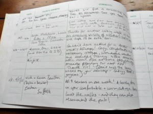 Visitors' Book
